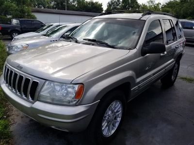 2003 Jeep Grand Cherokee Limited (Silver)