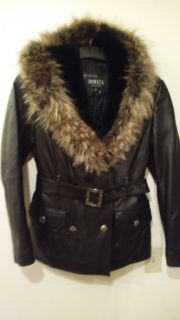 50% off Italian Leather Coat Was $400 now $2£0 Christmas Special