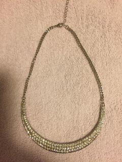 Silver Choker with Stones