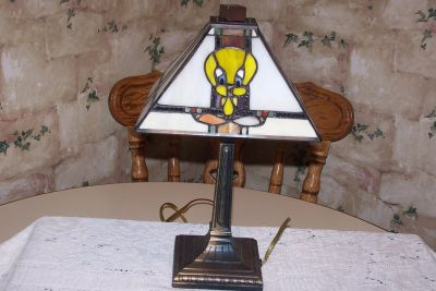 Leaded Tweety Lamp.One of 500.