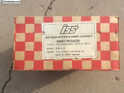 NOS 88mm slip in piston/cylinder set, 1679cc