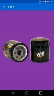 Wix oil filter brand new