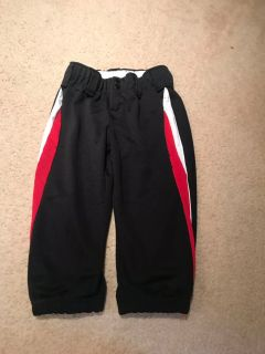 Girls softball knee pants size large