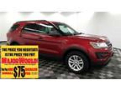 $21800.00 2016 FORD Explorer with 35064 miles!