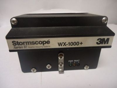 Find 3M Stormscope 78-8051-9160-4 WX-1000+ Processor - Used Avionics motorcycle in Sugar Grove, Illinois, United States