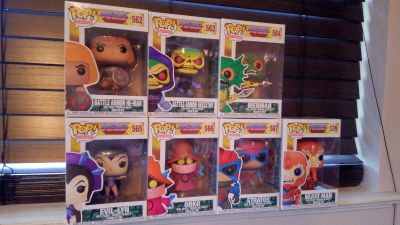 Funko POP Masters of the Universe LOT He-Man, Skeletor & more