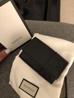 Authentic Gucci key chain wallet
