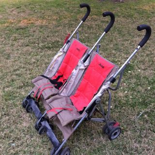 Jeep sport, all-weather double stroller