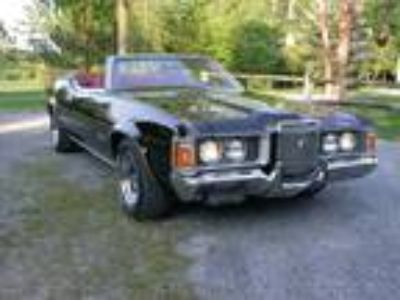 1971 Mercury Cougar XR-7 Black