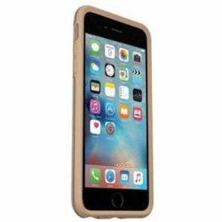 NEW-OtterBox Symmetry Series Case for iPhone 6 Plus/6s Plus -Clear/Roasted Tan