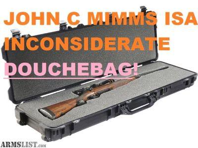For Sale: AVOID John C Mimms