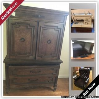 Scarsdale Estate Sale Online Auction