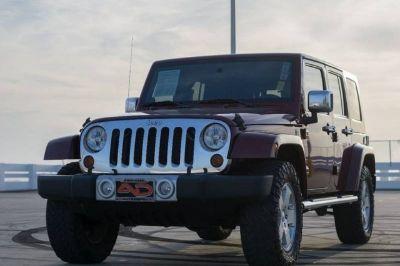 2010 Jeep Wrangler Unlimited Sahara 4x4 4dr SUV