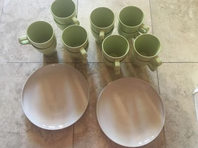 IKEA plates and cups all for $15