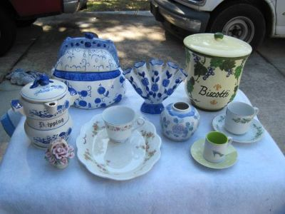 Collectable Dish,Vase  Other Items (Mandeville)