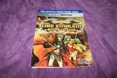 Official Nintendo Fire Emblem: The Sacred Stones Player's Guide Paperback