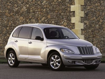2003 Chrysler PT Cruiser GT (Red)
