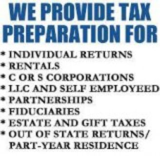 EXCELLENT TAX SERVICE DC FOR INDIVIDUALS CORPORATES AND SMALL BU