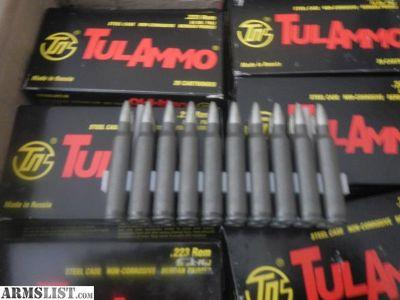 For Sale: 223 TulAmmo
