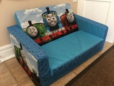 Mini pullout Thomas the Train couch