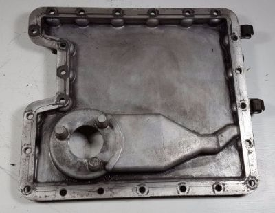 Sell 00-03 BMW E53 X5 4.4 4.6 M62TU VANOS LOWER HALF OIL PAN 7500207A motorcycle in Fullerton, California, United States, for US $89.99