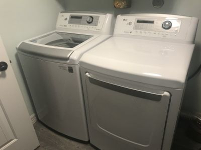 LG-HE Washer & Dryer (Electric)