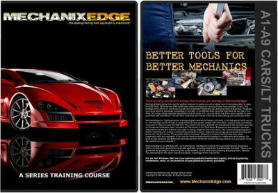 ASE TEST PREP A1-A8 Study Program CD Automotive Mechanic Series Training Set GET ASE CERTIFIED