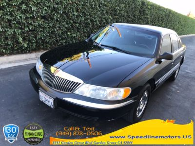 1999 Lincoln Continental Base (Black)