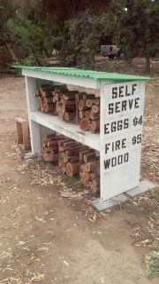 Firewood: Self-serve Open 24/7