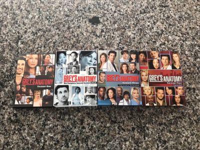 Grey s Anatomy DVDs