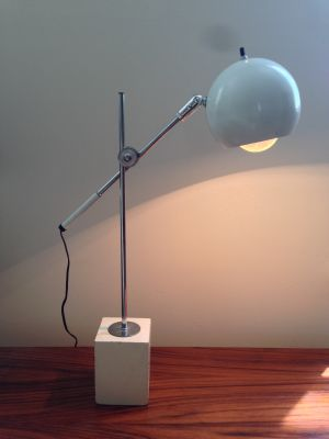 Robert Sonneman for Kovacs Eyeball Desk Lamp