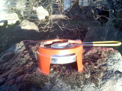 Alcohol Camping, Backpacking, and Survival Stove - Precise Campster