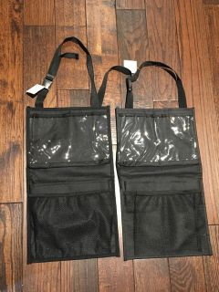 Over the Back Seat organizers -Set Of 2 -New