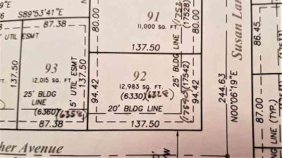 17540 - 17542 Susan Lane Lowell, This duplex lot is