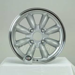 Purchase ROTA WHEEL RB 15X7 4X114.3 12 & 4 RS DATSUN ROADSTER motorcycle in FREMONT, CA, US, for US $494.00