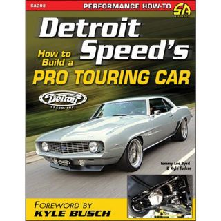 Purchase SA Design SA293 Book: Detroit Speed's How to Build a Pro Touring Car motorcycle in Delaware, Ohio, United States, for US $20.99