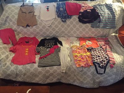 Toddler girls size 18-24 months clothes lot