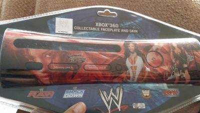 Collectable Faceplate and sking for XBOX 360