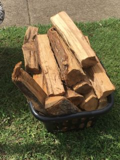 Free basket of firewood