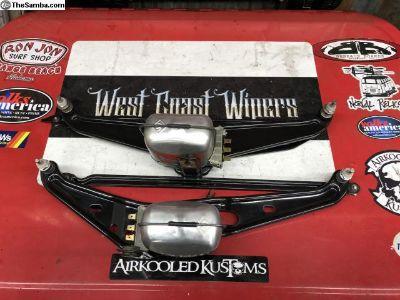 NOS parts restored 12V Bug wiper units 58-66