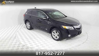 2015 Acura RDX Base w/Tech (Crystal Black Pearl)