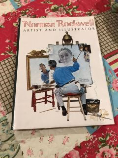 Norman Rockwell huge coffee table book