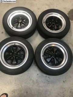 Fuchs wheels. Set of 4 16inch