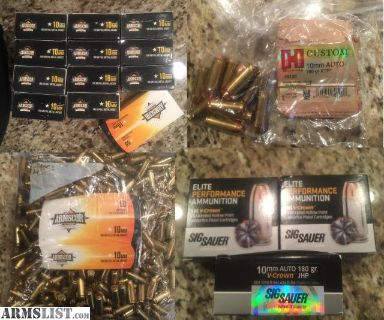 For Sale/Trade: 10mm Ammo, Range and self defense! Over 1k!