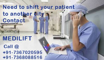 Medilift Provides an Emergency Air Ambulance Services in Bangalore