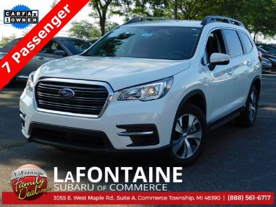 2019 Subaru Ascent (Crystal White Pearl)