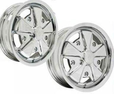 Porsche Alloy Wide 5 Wheels - No Adapters