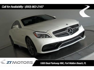 2015 Mercedes-Benz CLS-Class CLS63 AMG (designo Diamond White Metallic)