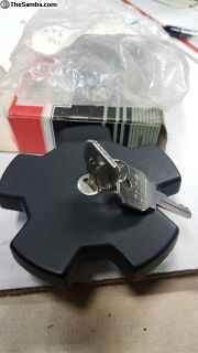 Locking gas cap with keys- MK1 75-80