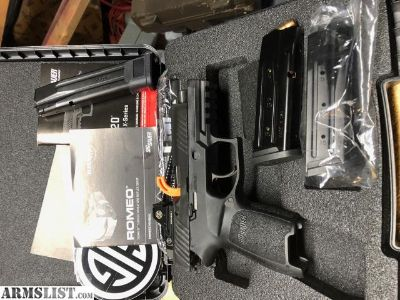 For Sale/Trade: Sig P320 RX compact